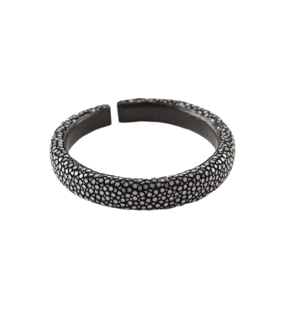Milan 20MM Stingray bracelet, S, Black