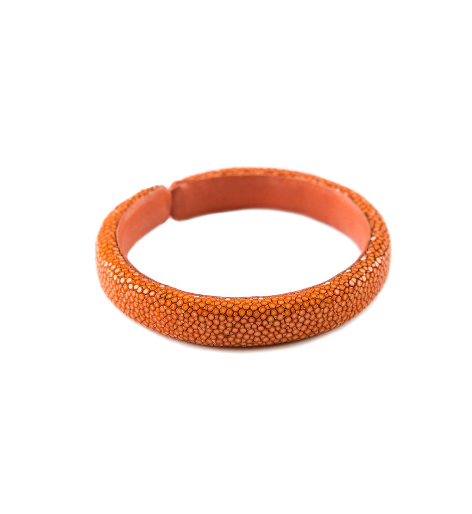 Verona 10MM Stingray bracelet, M, Flame orange