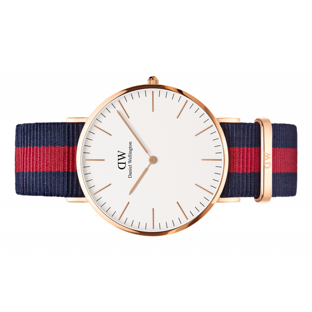 Classic Oxford Watch Rose Gold 40mm