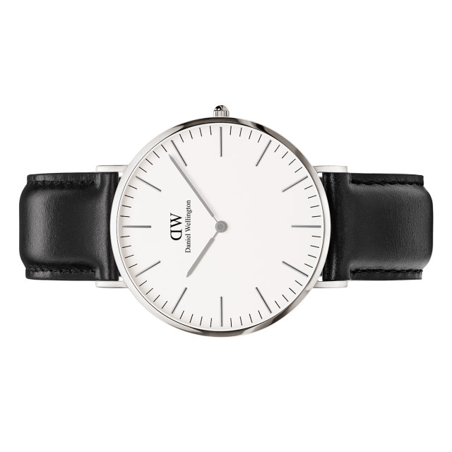 Classic Sheffield Watch Silver 40mm