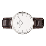 Classic York Watch Silver 40mm