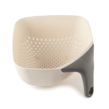 Square colander medium white
