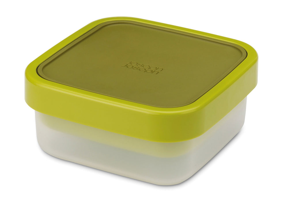 GoEat compact 3-in-1 salad box - green