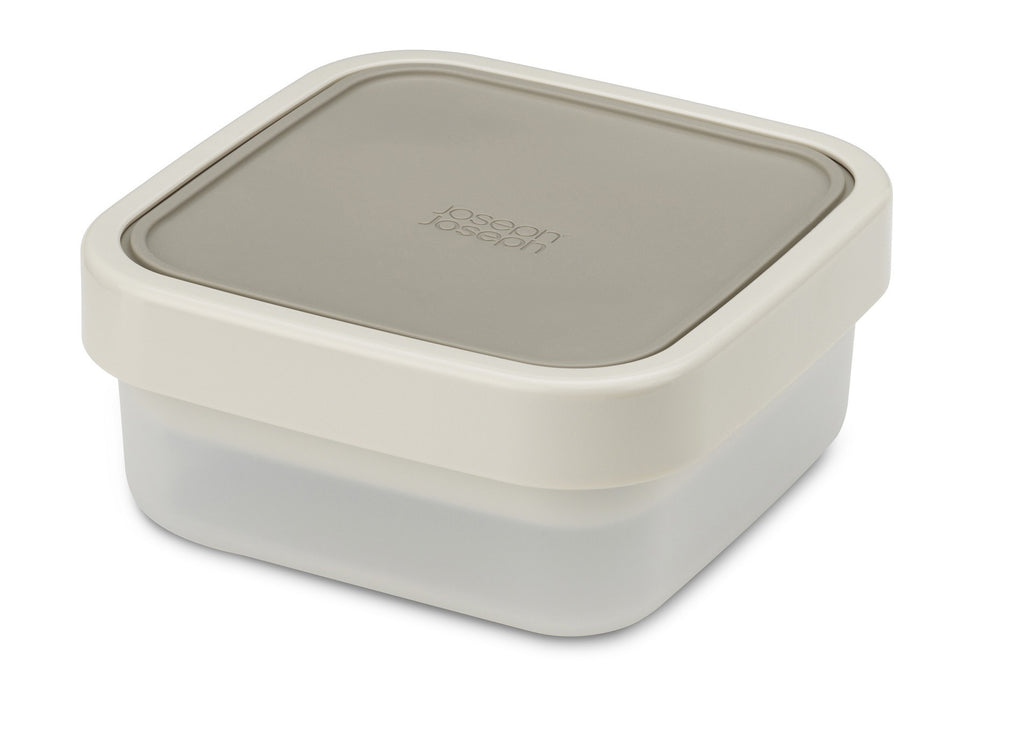 GoEat compact 3-in-1 salad box - grey
