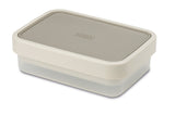 GoEat compact 2-in-1 lunch box - grey