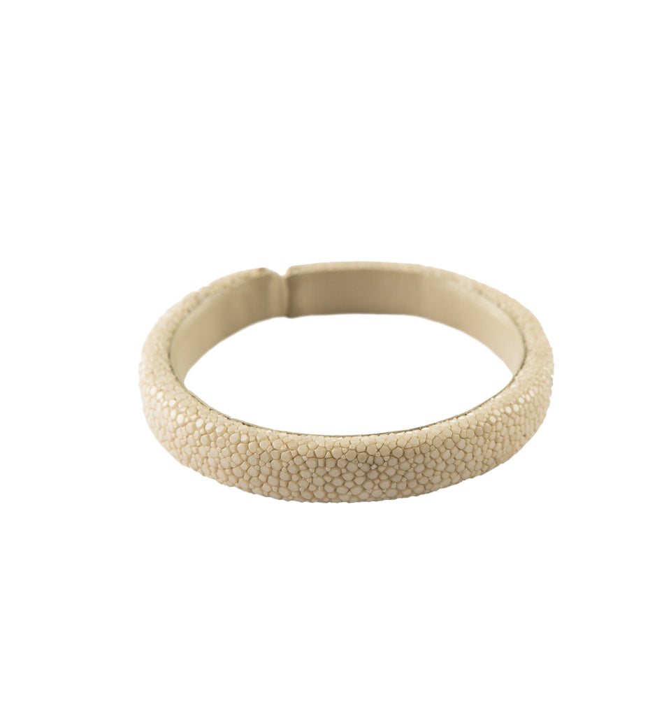 Milan 20MM Stingray bracelet, M, Nude