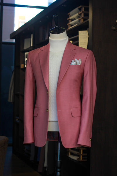 Salmon Single Breasted Blazer