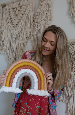 Macrame Rainbow DIY