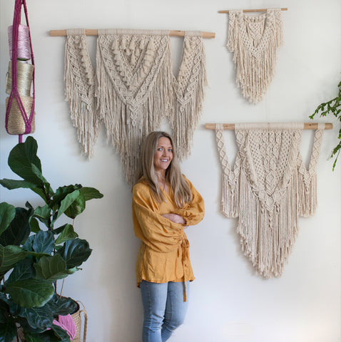 Neo - Beginner / Intermediate Macrame Wall Hanging Pattern Download