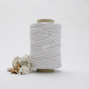 White // Macrame Cotton Rope - Mary Maker Studio