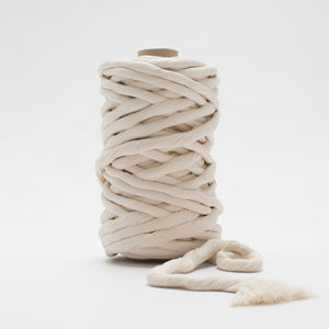 Natural // Macrame Luxe Cotton String - 12mm - Mary Maker Studio