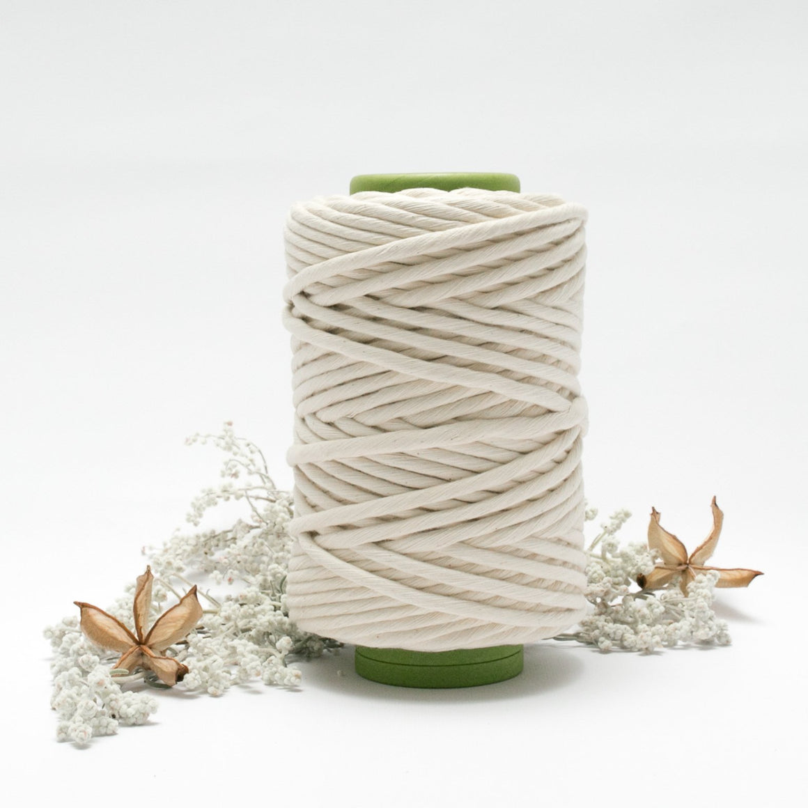 8mm - Natural Luxe Cotton String - Cotton String - Mary Maker Studio - [macrame] - [weaving] - [macrame_art] - [macrame_rope] - [macrame_cord] - [macrame_workshops] - [macrame_string] - [learn-_to_macrame] - [macrame_patterns]