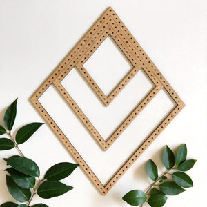 Diamond Looms - looms - Mary Maker Studio - [macrame] - [weaving] - [macrame_art] - [macrame_rope] - [macrame_cord] - [macrame_workshops] - [macrame_string] - [learn-_to_macrame] - [macrame_patterns]