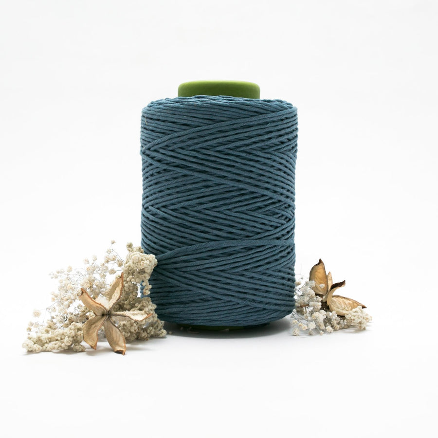 Bluebell // Macrame Cotton String - Luxe Colour Cotton - Mary Maker Studio - [macrame] - [weaving] - [macrame_art] - [macrame_rope] - [macrame_cord] - [macrame_workshops] - [macrame_string] - [learn-_to_macrame] - [macrame_patterns]