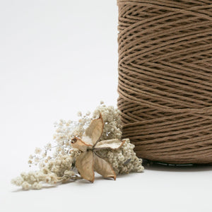Mocha // Macrame Cotton String - Luxe Colour Cotton - Mary Maker Studio - [macrame] - [weaving] - [macrame_art] - [macrame_rope] - [macrame_cord] - [macrame_workshops] - [macrame_string] - [learn-_to_macrame] - [macrame_patterns]