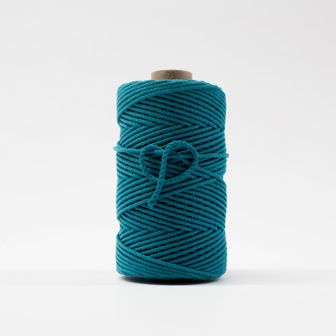 Mary Maker Studio Luxe Colour Cotton 4mm 1KG Recycled Luxe Macrame Rope // Rockpool Blue macrame cotton macrame rope macrame workshop macrame patterns macrame