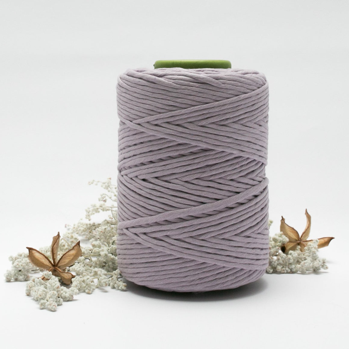 Lilac // Macrame Cotton String - Luxe Colour Cotton - Mary Maker Studio - [macrame] - [weaving] - [macrame_art] - [macrame_rope] - [macrame_cord] - [macrame_workshops] - [macrame_string] - [learn-_to_macrame] - [macrame_patterns]
