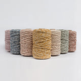 Mary Maker Studio Luxe Colour Cotton 5mm 1KG MIX Rust // Macrame Cotton String macrame cotton macrame rope macrame workshop macrame patterns macrame
