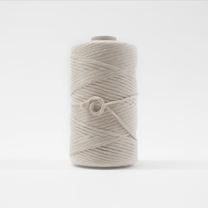 Mary Maker Studio Luxe Colour Cotton 5mm 1KG Recycled Luxe Macrame String // Natural macrame cotton macrame rope macrame workshop macrame patterns macrame