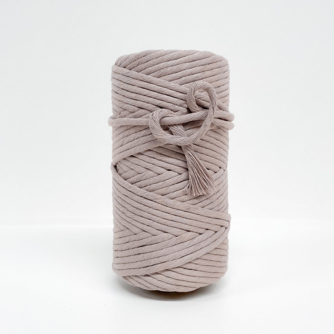 Mary Maker Studio Luxe Colour Cotton 8mm 1KG 8mm Recycled Luxe Macrame String // Quartz macrame cotton macrame rope macrame workshop macrame patterns macrame