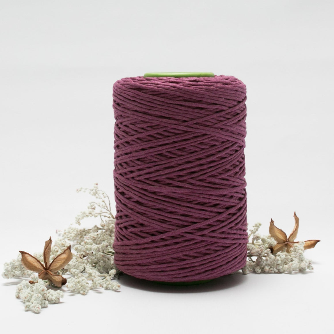 Berry // Macrame Cotton String - Luxe Colour Cotton - Mary Maker Studio - [macrame] - [weaving] - [macrame_art] - [macrame_rope] - [macrame_cord] - [macrame_workshops] - [macrame_string] - [learn-_to_macrame] - [macrame_patterns]