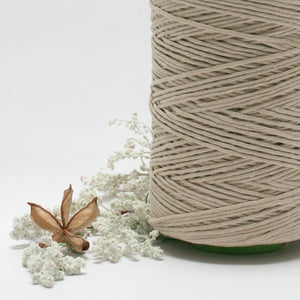 Champagne // Macrame Cotton String - Luxe Colour Cotton - Mary Maker Studio - [macrame] - [weaving] - [macrame_art] - [macrame_rope] - [macrame_cord] - [macrame_workshops] - [macrame_string] - [learn-_to_macrame] - [macrame_patterns]