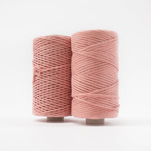 Mary Maker Studio Luxe Colour Cotton Recycled Luxe Macrame String // Coral macrame cotton macrame rope macrame workshop macrame patterns macrame