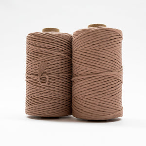 Mary Maker Studio Luxe Colour Cotton Recycled Luxe Macrame String // Driftwood macrame cotton macrame rope macrame workshop macrame patterns macrame