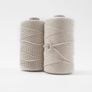 Mary Maker Studio Luxe Colour Cotton Recycled Luxe Macrame String // Natural macrame cotton macrame rope macrame workshop macrame patterns macrame