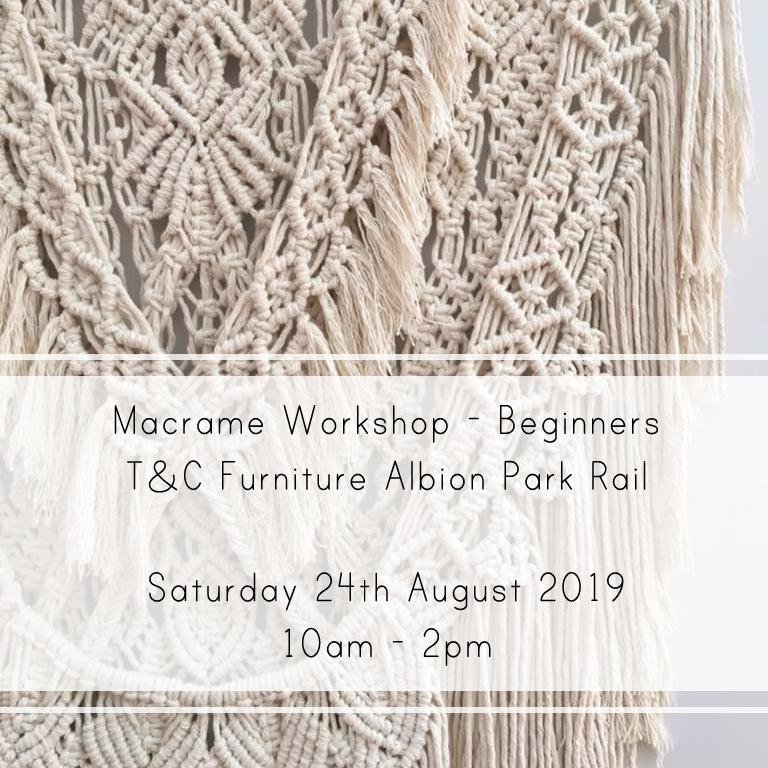 Macrame Beginners 24th of August 10am-2pm - Macrame Workshop - Mary Maker Studio - [macrame] - [weaving] - [macrame_art] - [macrame_rope] - [macrame_cord] - [macrame_workshops] - [macrame_string] - [learn-_to_macrame] - [macrame_patterns]