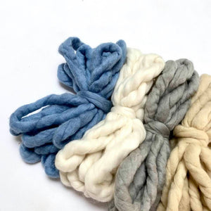 Merino Sabai Yarn - 17 Colours -  - Mary Maker Studio - [macrame] - [weaving] - [macrame_art] - [macrame_rope] - [macrame_cord] - [macrame_workshops] - [macrame_string] - [learn-_to_macrame] - [macrame_patterns]
