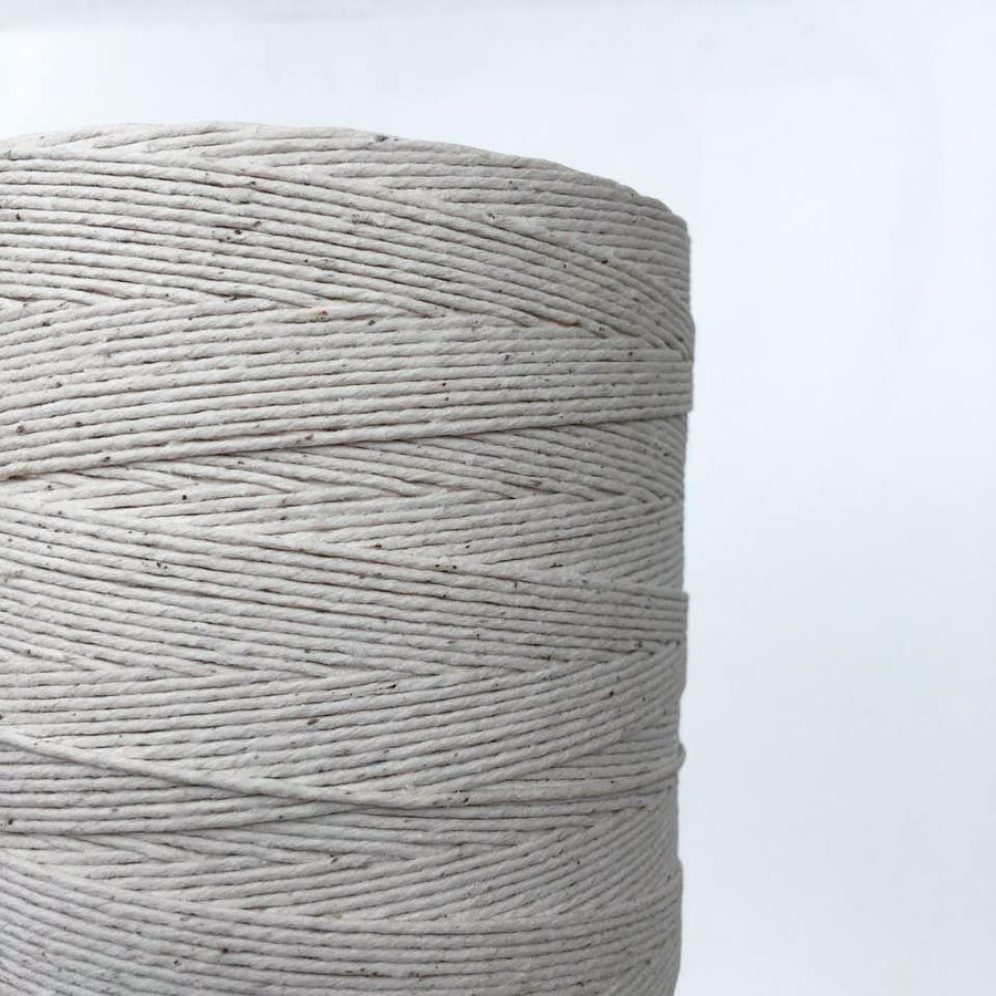 Polished Cotton: Fine - Polished Cotton - Mary Maker Studio - [macrame] - [weaving] - [macrame_art] - [macrame_rope] - [macrame_cord] - [macrame_workshops] - [macrame_string] - [learn-_to_macrame] - [macrame_patterns]