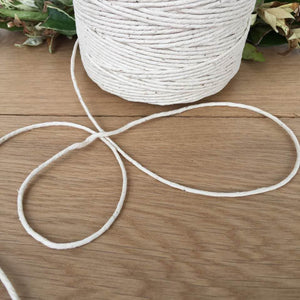 Polished Cotton: Medium - Polished Cotton - Mary Maker Studio - [macrame] - [weaving] - [macrame_art] - [macrame_rope] - [macrame_cord] - [macrame_workshops] - [macrame_string] - [learn-_to_macrame] - [macrame_patterns]