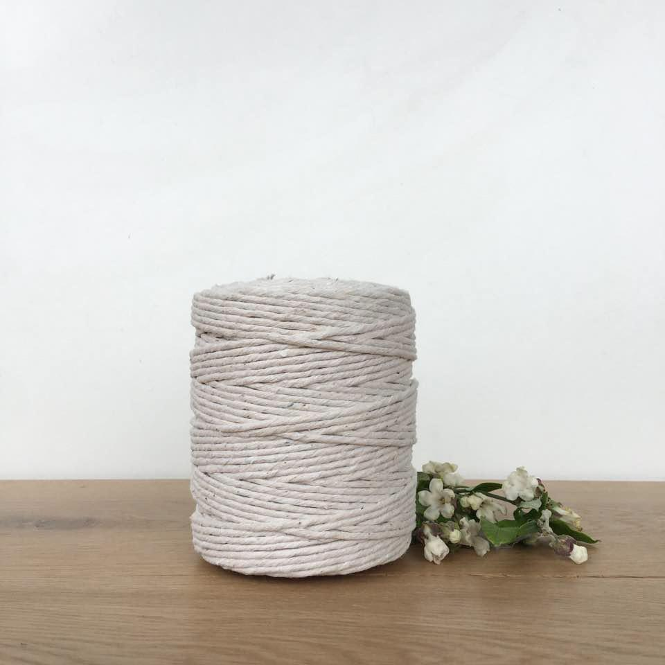 Polished Cotton: Thick - Polished Cotton - Mary Maker Studio - [macrame] - [weaving] - [macrame_art] - [macrame_rope] - [macrame_cord] - [macrame_workshops] - [macrame_string] - [learn-_to_macrame] - [macrame_patterns]
