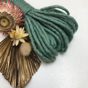 Fine Felted Finger Rope - Merino - speciality fibre - Mary Maker Studio - [macrame] - [weaving] - [macrame_art] - [macrame_rope] - [macrame_cord] - [macrame_workshops] - [macrame_string] - [learn-_to_macrame] - [macrame_patterns]