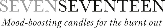 SevenSeventeen plant-based candles