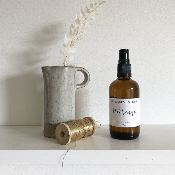 RECHARGE / ROSE GERANIUM ROOM MIST