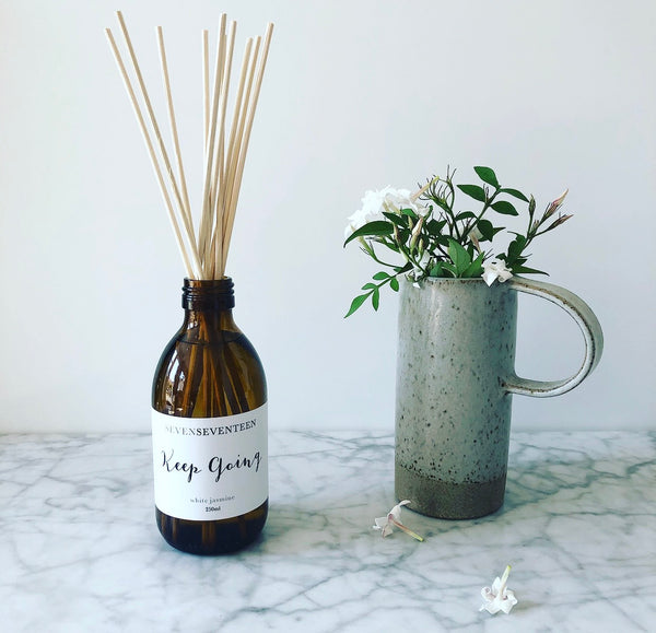 Keep Going / White Jasmine Diffuser