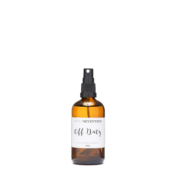 Off Duty / Lime Basil & Mandarin Room Mist