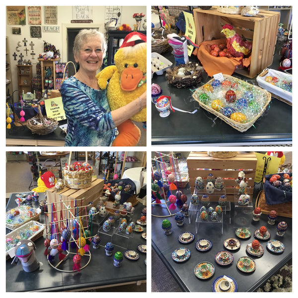 Easter Specials and Fun at Polish Pottery and Beyond