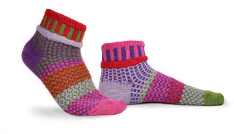 Hyacinth Adult Ankle Socks
