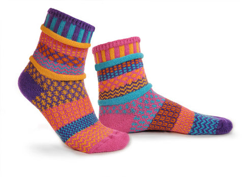 Carnation Adult Socks
