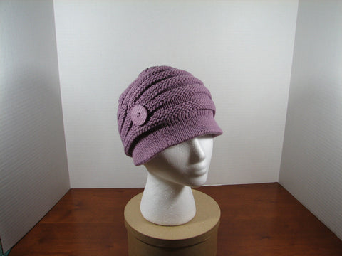 Button n Brim Violet