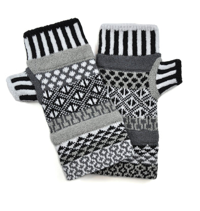 Fingerless Mittens Midnight