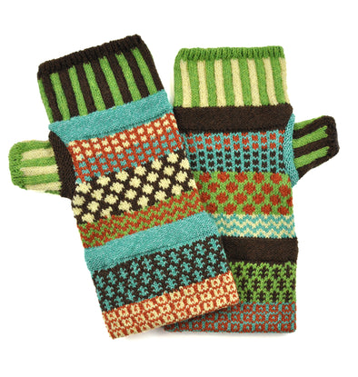 Fingerless Mittens Sept Sun