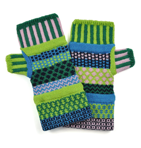 Fingerless Mittens Water Lily