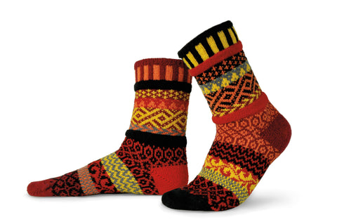 Fire Adult Socks