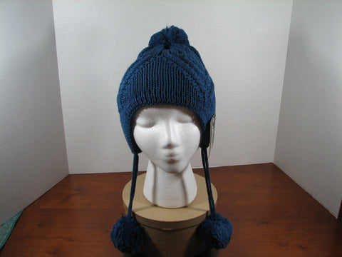 Beanie Hanging Pon Blue