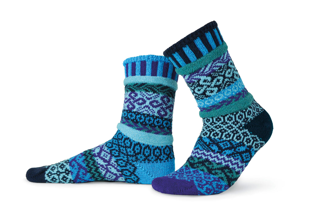 Water Adult Crew Socks