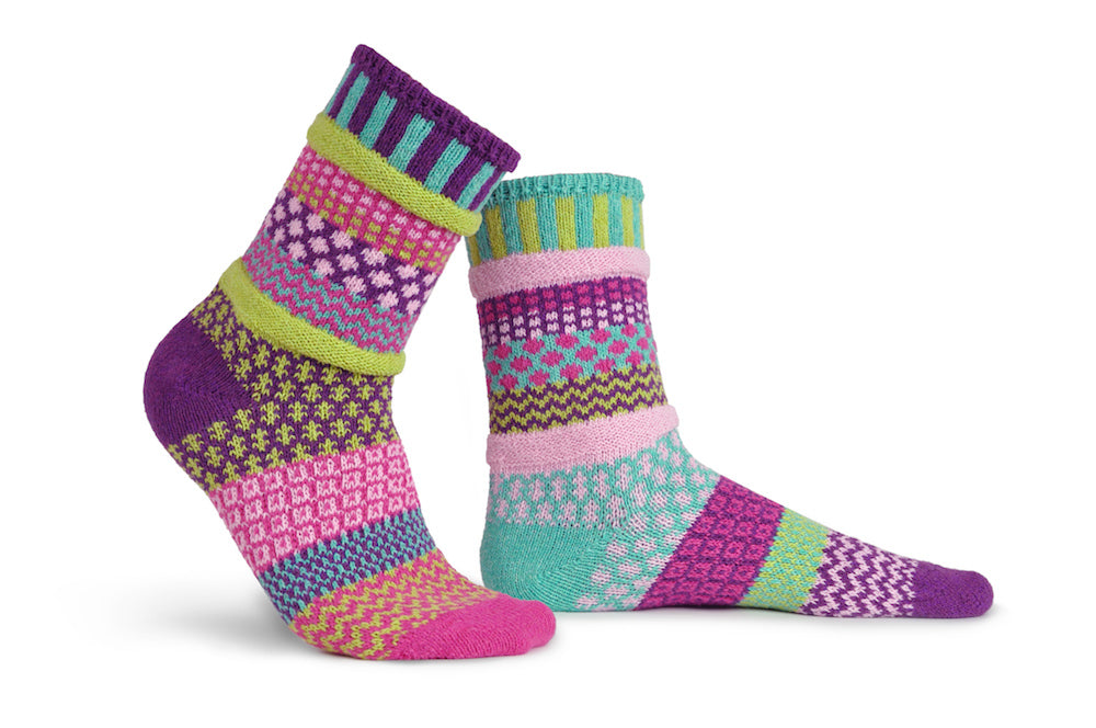 Dahlia Adult Socks